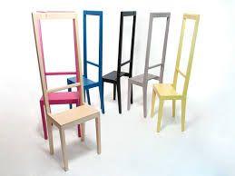 sedia appendiabiti in legno