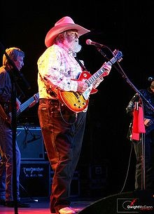 Charlie Daniels.  Marion, SC before that place went kaput (As we all knew it would).  Fun times!