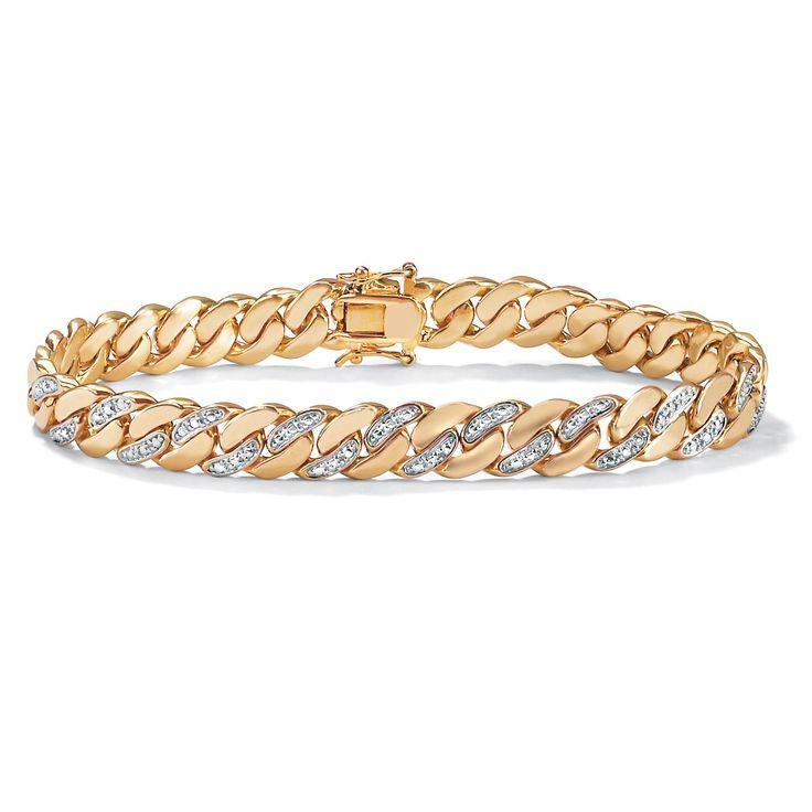 16 best Men\'s Link Bracelets images on Pinterest   Link bracelets ...