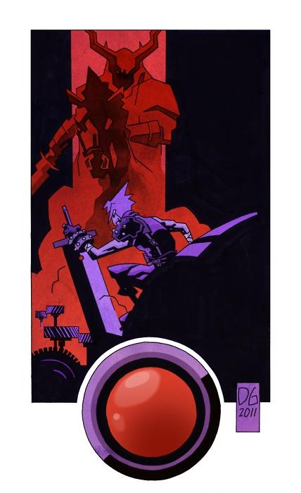 Final Fantasy: Joseph Dellagatta  A colored version of his piece.