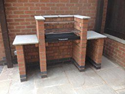 Black Knight Brick BBQ BKB401: Amazon.co.uk: Garden & Outdoors