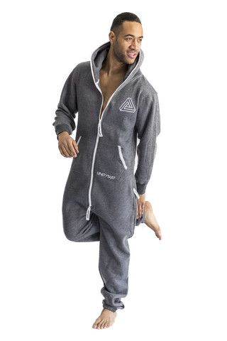 Mens Onesies Be a boohooMAN and slip into our favorite fashion item of every season – the men's onesie. Keep comfortable with a onesie in designs ranging from stars and stripes to bold pop colors that'll keep your off-duty wear on-trend, or shake it up in a shortsie - the latest sleeveless addition to the onesie .