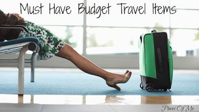 Pieces of Me: Must Have Budget Travel Items