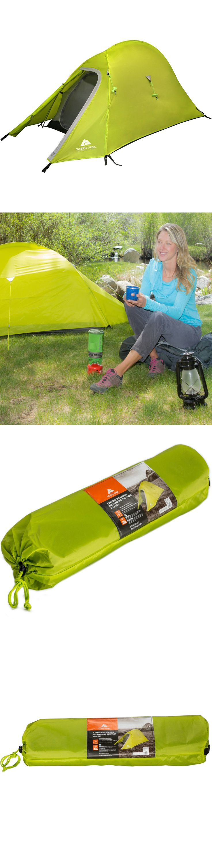 Tents 179010: Ultra Light Back Packing Tent 4 X 7 X 42 Full Fly Sleeps 1 Green Durable New -> BUY IT NOW ONLY: $42.58 on eBay!