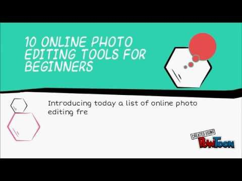 10 Online Photo Editing Tools for Beginners