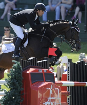 Eric Lamaze (CAN) and Hickstead - 2010 winners of the CN Reliability Grand Prix
