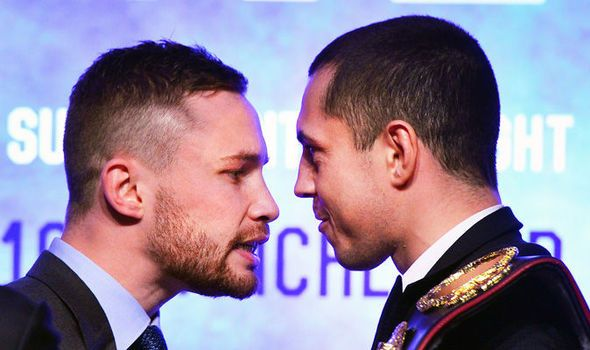 Carl Frampton and Scott Quigg involved in dressing room row before fight in Manchester