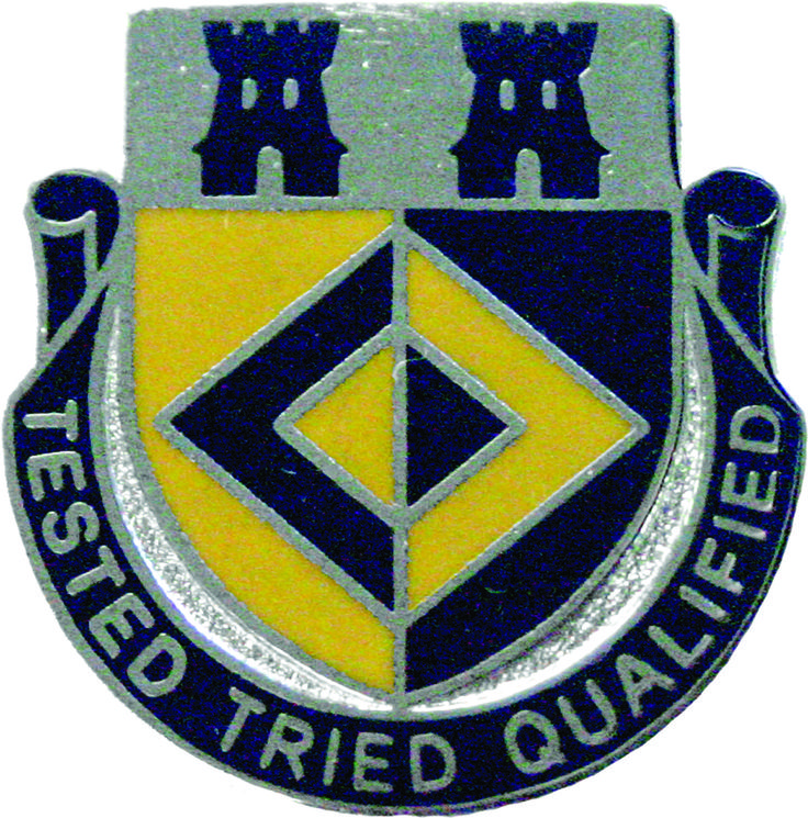 368th Finance Bn Unit Crest (Tested Tried Qualified)