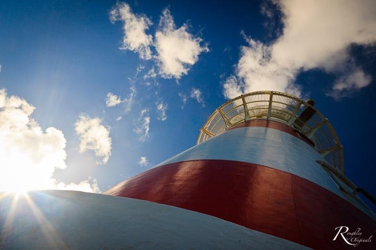 Cape Palliser Lighthouse. Martinborough, New Zealand.