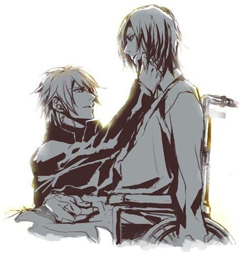 Nitro Behind Komatsu Manga Jpg: {Togainu No Chi} ~Akira X Shiki~ Don't Leave Me