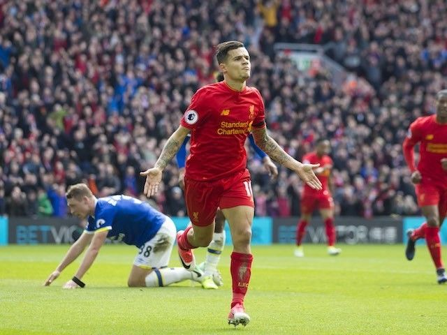 Result: Liverpool up to third in Premier League with Merseyside derby win