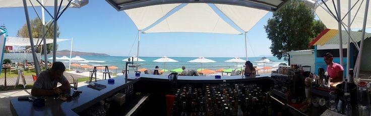 Nikki Seaside bar  designed by John Yiannikakis | DESIGNFactory | 2014 | Chania Greece (facebook.com/designfactory.gr)