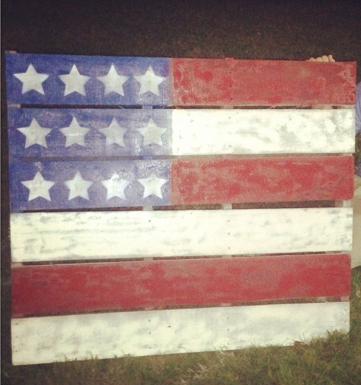 DIY American Flag Decorations