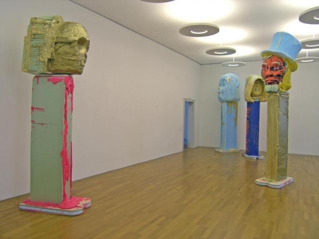 Folkert De Jong, Gott Mit Uns - detail Styrofoam, Polyurethane foam 1500 x 1500 x 300 cm