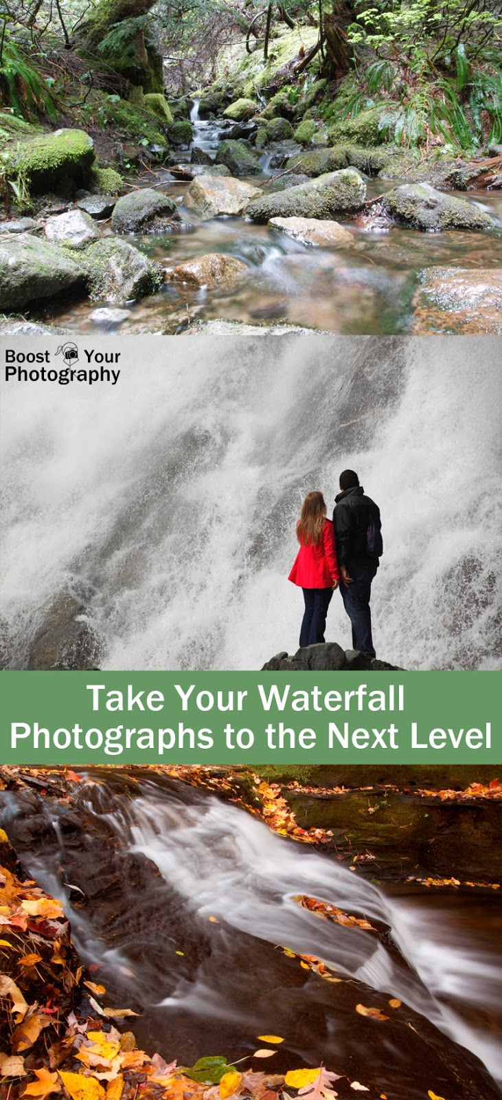 Take Your Waterfall Photographs to the Next Level | Boost Your Photography #waterfalls #photography