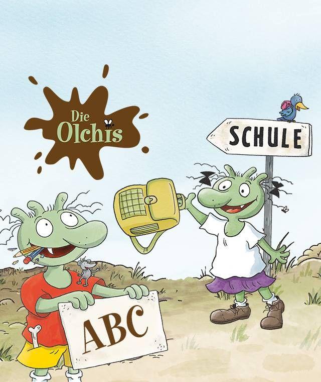 Personalisiertes Kinderbuch Mit Den Olchis I Framily Framily Olchis Personalisierte Kinderbucher Geschenk Einschulung