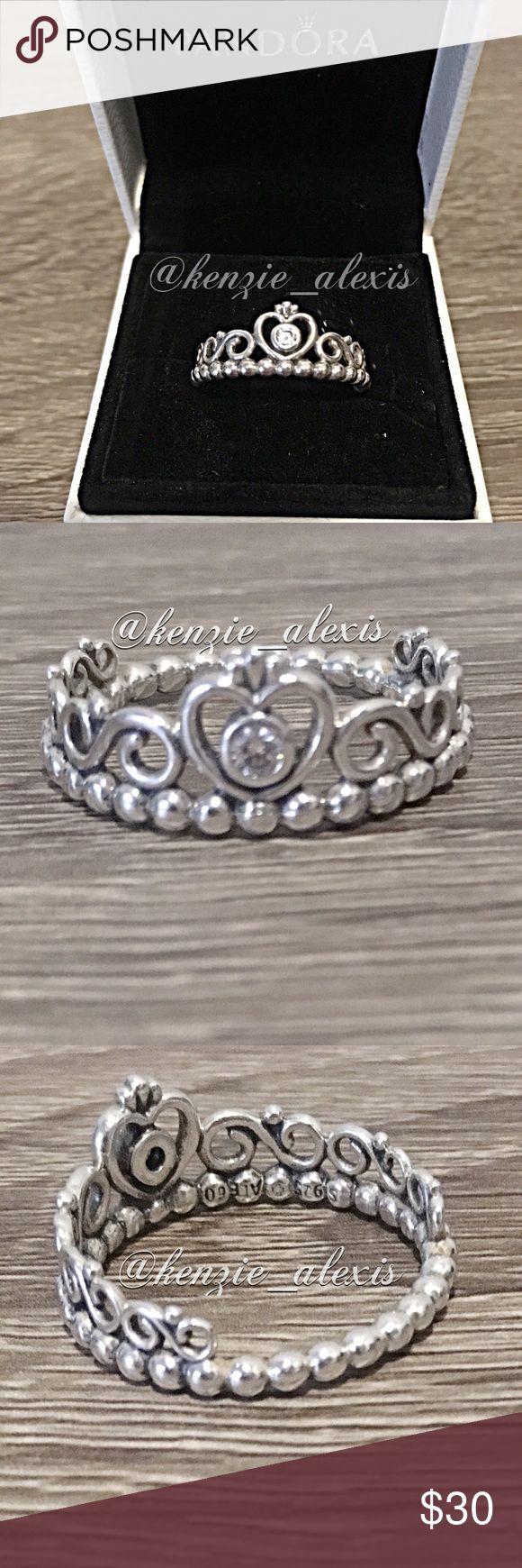 25 beste idee 235 n pandora princess ring price op