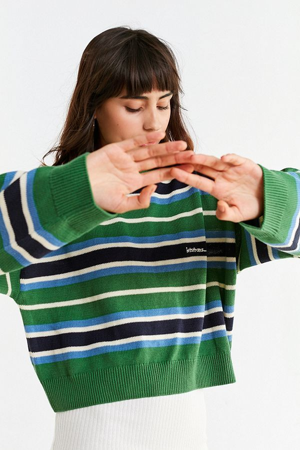 95751ae759 Slide View  4  UO iets frans… Kelly Striped Sweater Urban Outfitters