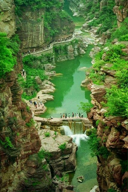 // Les Paysages Asiatiques / Yuntai Mountain Geopark of China