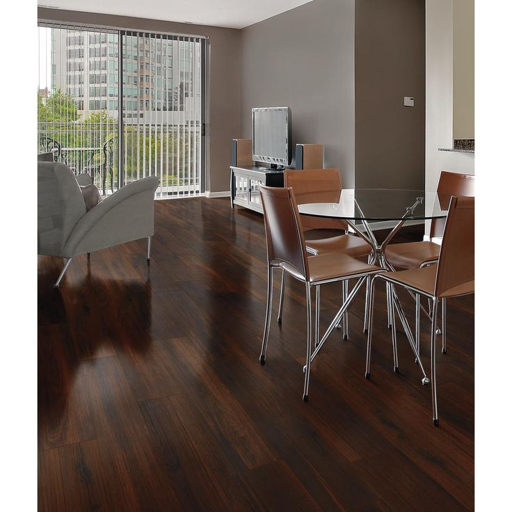 Florida Tile Home Collection Beautiful Wood Cherry 8 in. x ...