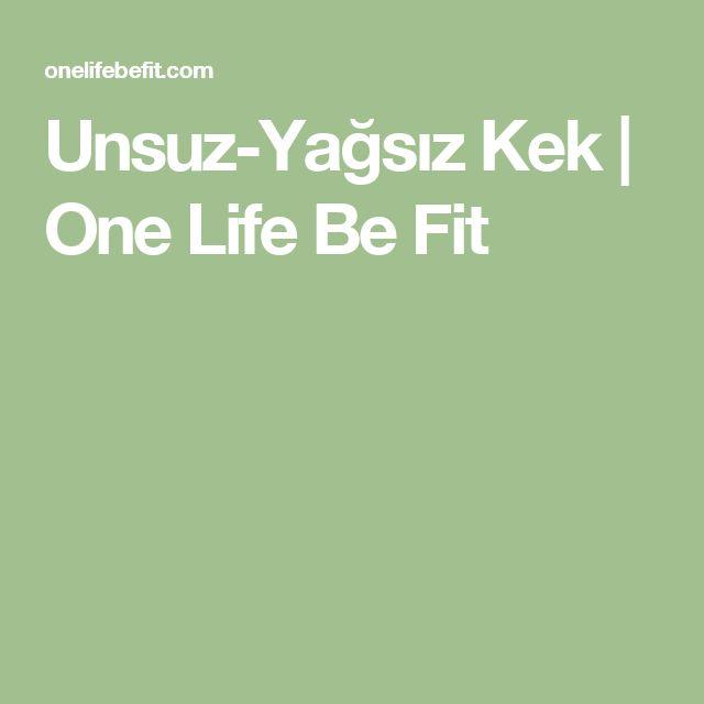 Unsuz-Yağsız Kek | One Life Be Fit