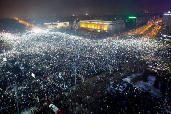 Andrew V. Pestano Feb. 8 (UPI) -- The Romanian government under Prime Minister Sorin Grindeanu has survived a no-confidence vote but…