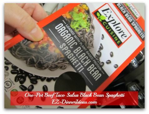 What Is Black Bean Spaghetti?  Check out the discoveries of its texture, smell, taste and more.