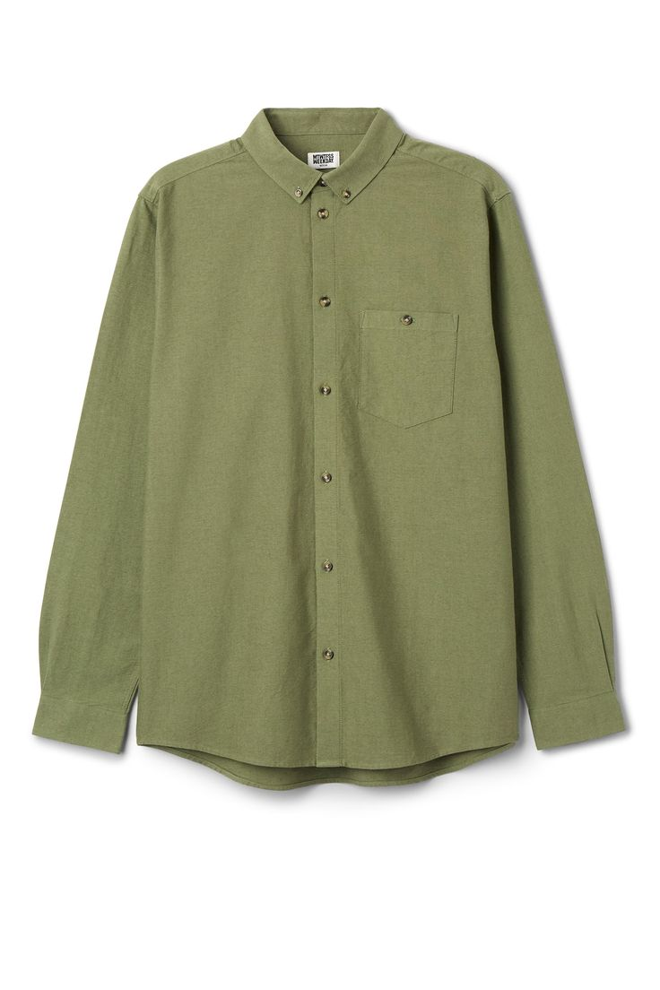 Bad Times Shirt in Green Yellowish Dark