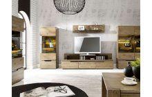 Obývací sestava nábytku MIST 64 http://www.nejlepsi-nabytek.cz/dubovy-nabytek-z-masivu/luxusni-dubovy-nabytek-z-masivu-do-obyvaciho-pokoje-a-jidelny-mist-64