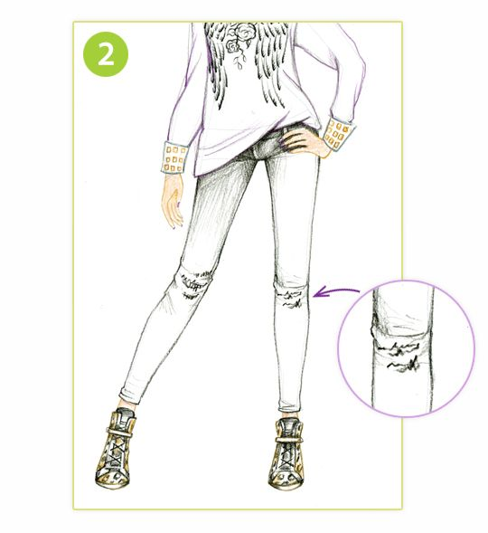 1000 Images About Style Me Up How To Draw On Pinterest