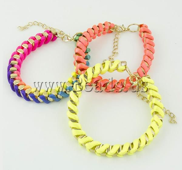 Nylon Cord Chain Woven Bracelet jewelry  http://www.beads.us/product/Nylon-Cord-Bracelet_p89254.html