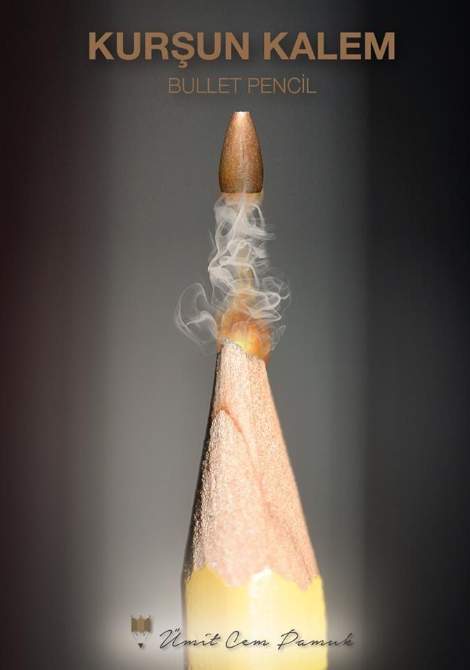 Bullet Pencil #umitcempamuk #photo #manipulation #pencil #bullet