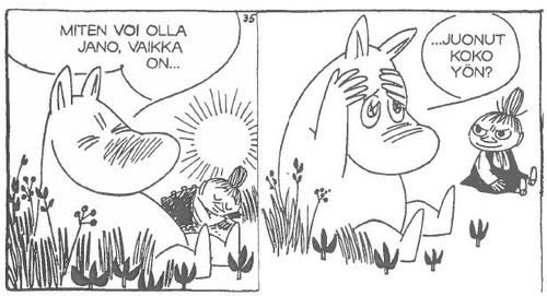 One must be aware of the consequences of excess. | 50 Lessons That Moomins Can Teach You About Life