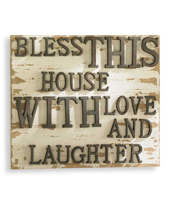 u0027bless this houseu0027 vintage wall sign u0027