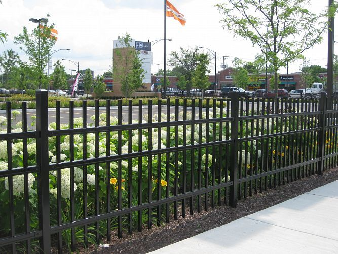 25 Best Ideas About Metal Fence Gates On Pinterest