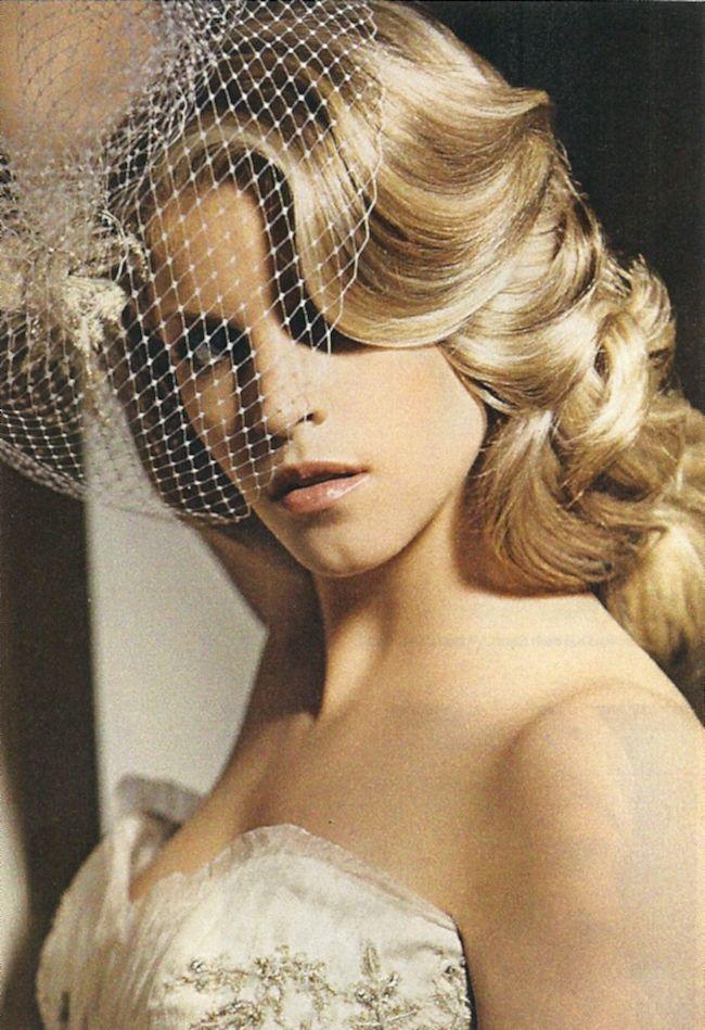 Wondrous 1000 Images About Bridal Hair Vintage On Pinterest Short Hairstyles Gunalazisus