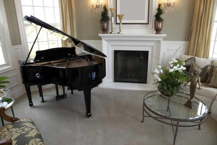 Music Practice Rooms And Home Music Studio Ideas Grand Piano Living Room Home Music Rooms Piano Living Rooms