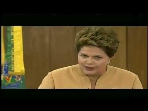 PRONUNCIAMENTO DE DILMA ROUSSEF APÓS ONDA DE PROTESTOS NO BRASIL