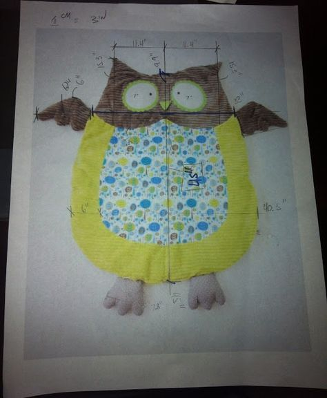 Create a cute owl mat and never bore your kid with grown-up decor. Tutorial--> http://wonderfuldiy.com/wonderful-diy-cute-baby-owl-mat/ #diy #babymat