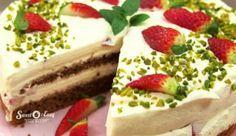 """Erdbeer Mascarpone Torte: Das #Rezept aus """"Enie backt"""""""