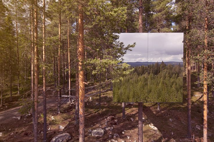 Treehotel.se - The Mirrorcube