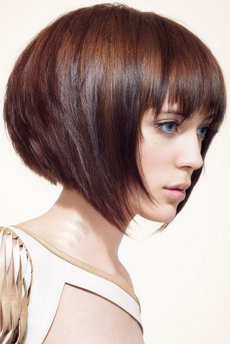 Женские стрижки для коротких волос