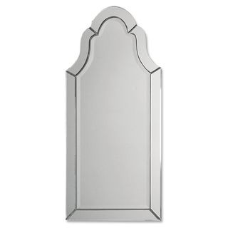 uttermost hovan frameless arched mirror overstock shopping great deals on uttermost mirrors