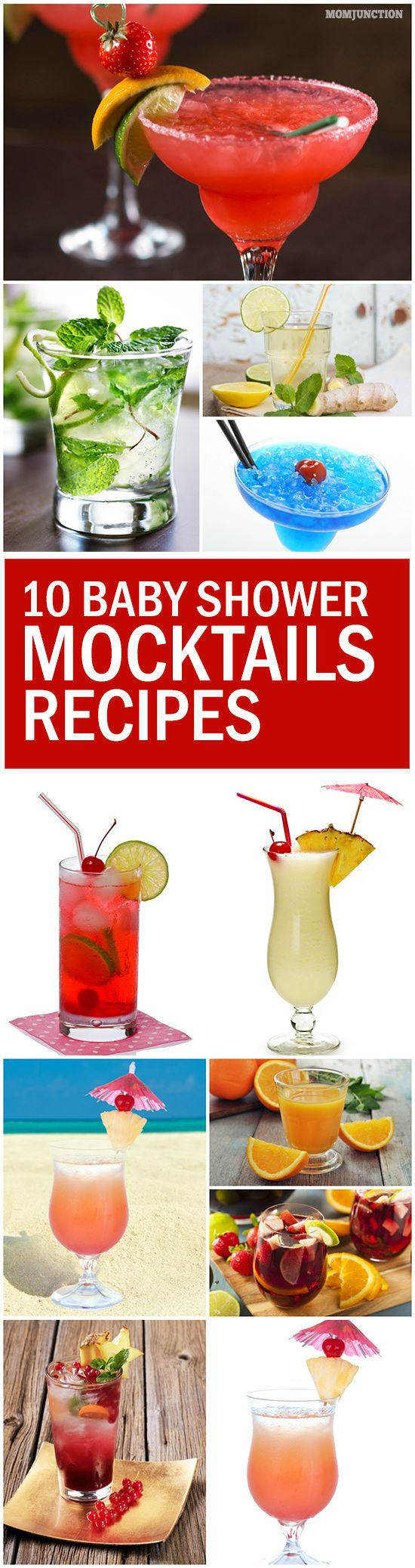 30 Fun Baby Shower Mocktails Recipes To Kickstart Your Party