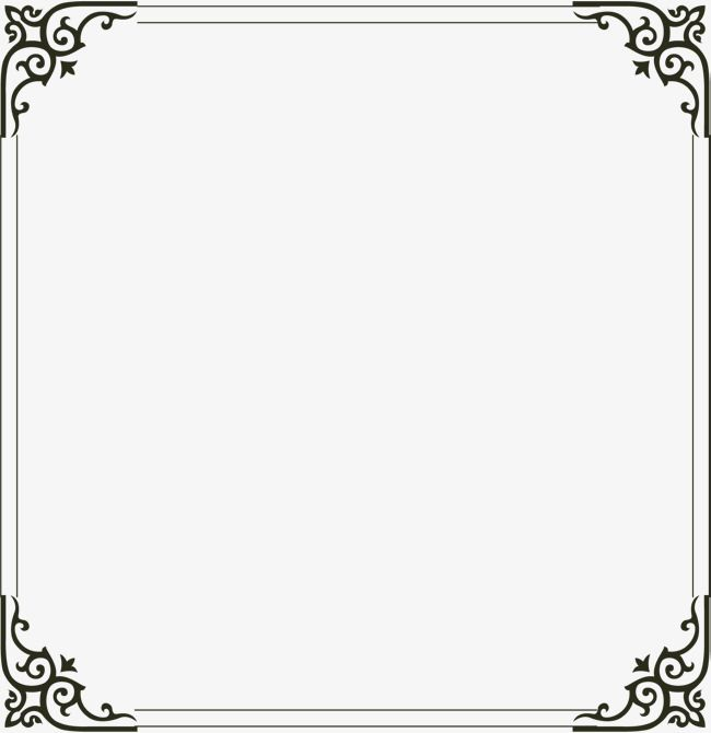 Simple Border Frame Clipart Simple Frame Png Transparent Clipart Image And Psd File For Free Download Simple Borders Frame Background Photo Frame