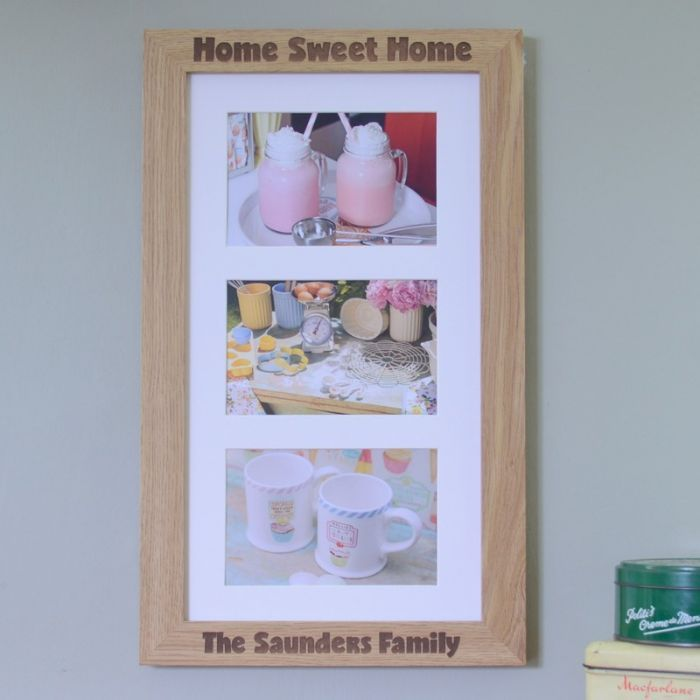 Send your warmest housewarming wishes with our New Home Personalised Engraved Photo Frame.