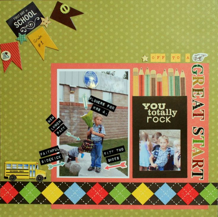 245 best school graduation scrapbooking images on pinterest off to a great start scrapbook pronofoot35fo Image collections