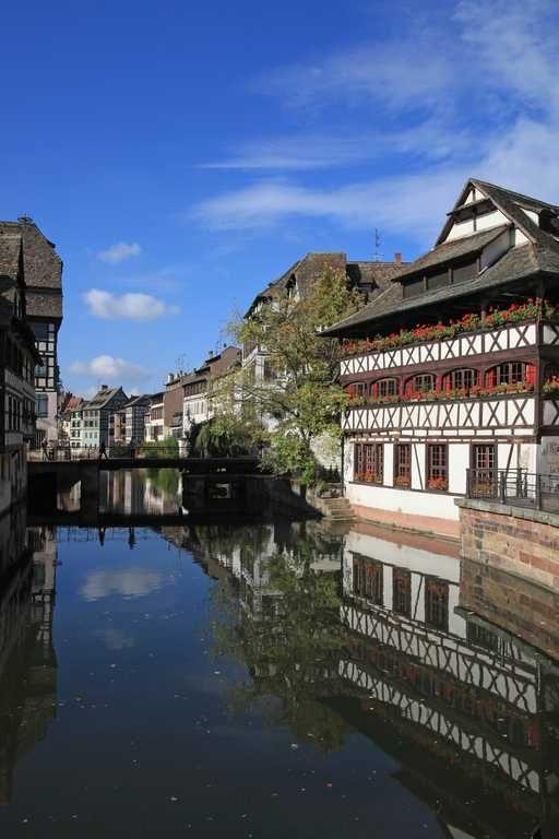 La Petite France,  Au cœur du Strasbourg classé Patrimoine Mondial de l'Unesco, découvrez le quartier de La Petite France. C'est le quartier le plus pittoresque du vieux Strasbourg.