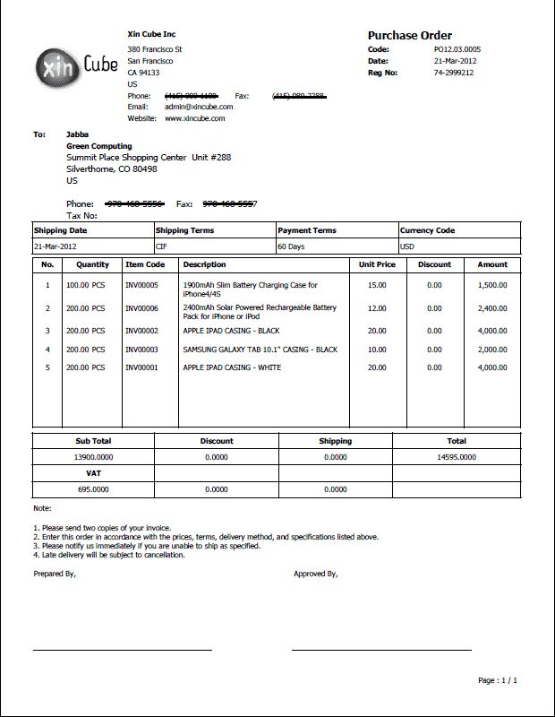 Delivery Document Template delivery slip sample format for a – Delivery Order Form