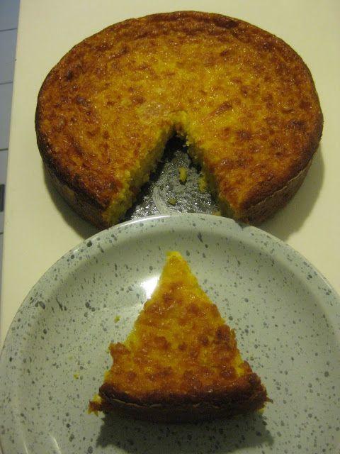 Mis recetas favoritas: Torta de maíz criolla